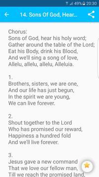 Catholic Hymns screenshot 14