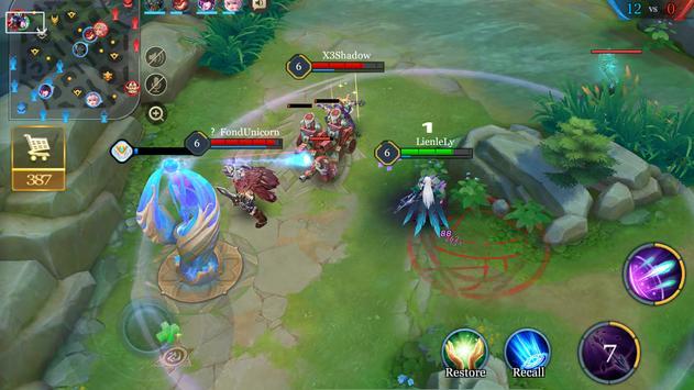Arena of Valor ảnh chụp màn hình 5