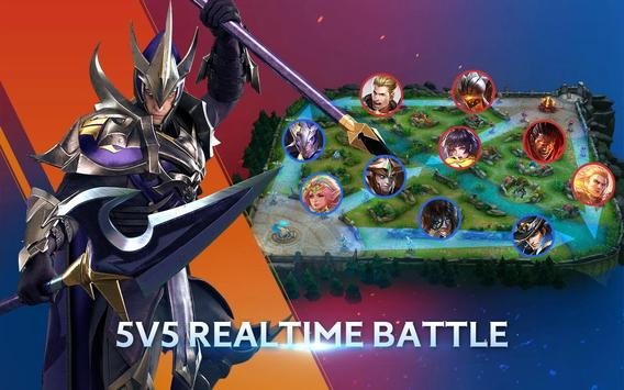 18 Schermata Arena of Valor: 5v5 Battle