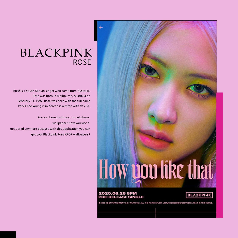 Rose Blackpink Wallpaper For Android Apk Download