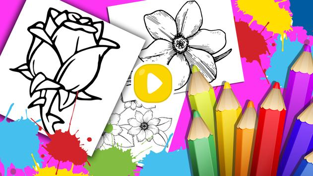 Flowers Coloring Book- Various Flower for Coloring 1.0 ...