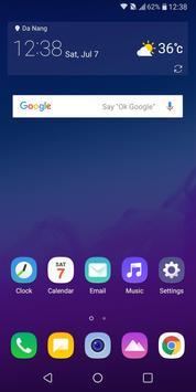 LG UX 7.0 for LG V30 V20 G6 G5 Oreo poster