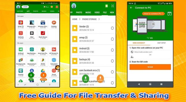 Free Guide For File Transfer & Sharing poster