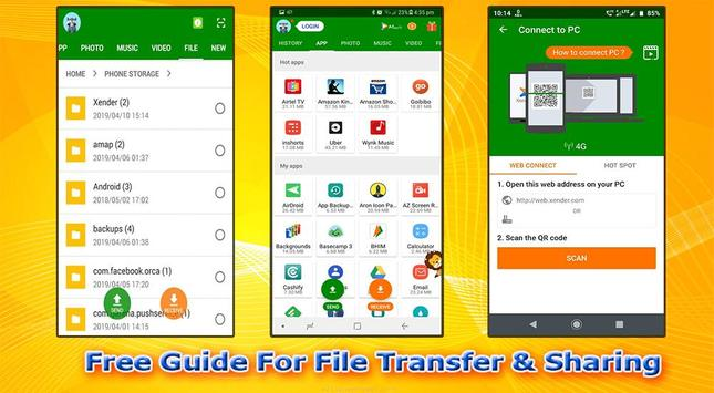 Free Guide For File Transfer & Sharing screenshot 1