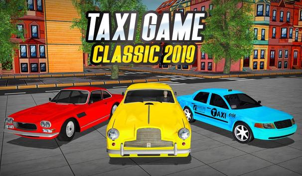 NY Taxi Driving 2019 : Yellow Cab Parking Mania poster