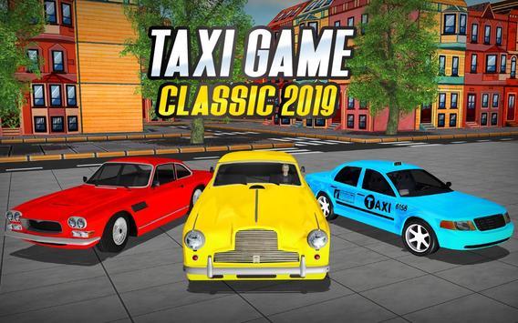 NY Taxi Driving 2019 : Yellow Cab Parking Mania screenshot 6