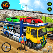 Car Transporter Euro Truck: Free Driving Games icon