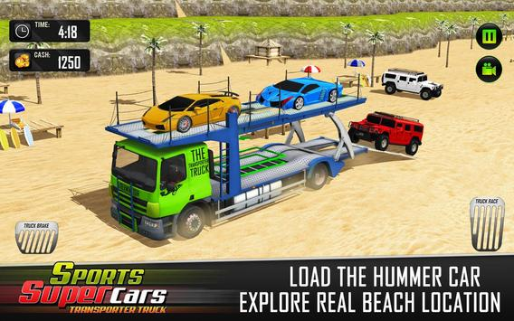 Car Transporter Euro Truck: Free Driving Games screenshot 11