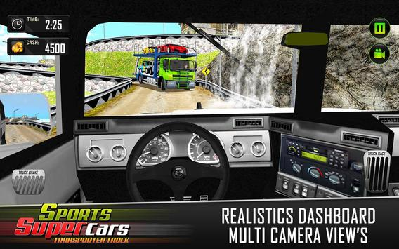 Car Transporter Euro Truck: Free Driving Games screenshot 8