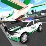 US Police Cargo Plane Transporter