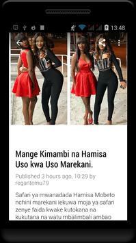 Habari Za Wasanii Mbali Mbali Tz poster