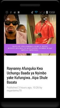 Habari Za Wasanii Mbali Mbali Tz screenshot 12