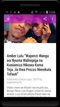 Habari Za Wasanii Mbali Mbali Tz screenshot 1