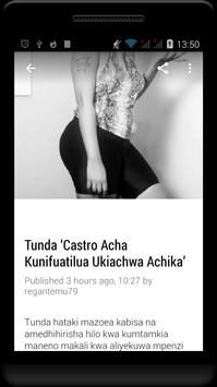 Habari Za Wasanii Mbali Mbali Tz screenshot 2