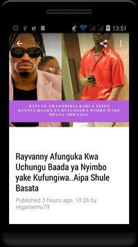 Habari Za Wasanii Mbali Mbali Tz screenshot 3