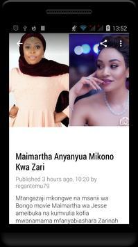 Habari Za Wasanii Mbali Mbali Tz screenshot 4