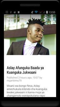 Habari Za Wasanii Mbali Mbali Tz screenshot 7