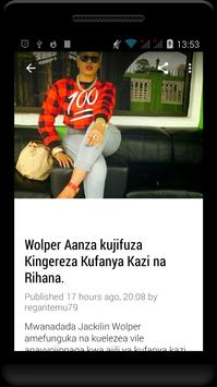 Habari Za Wasanii Mbali Mbali Tz screenshot 9