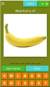 Word puzzle: English fruit vocabulary - WIN PRIZE screenshot 3