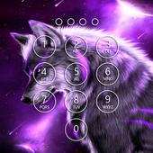 Fantasy Wolf Lock Screen icon