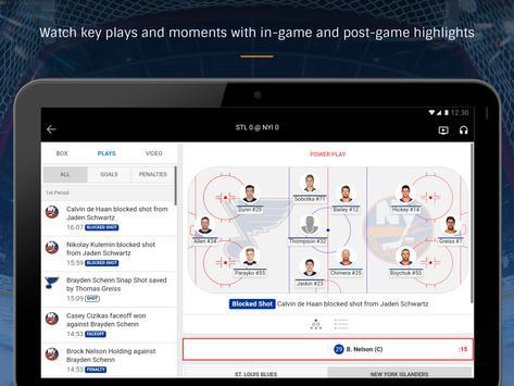 NHL screenshot 10