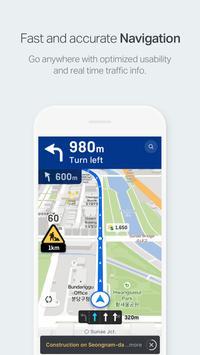 NAVER Map, Navigation screenshot 1