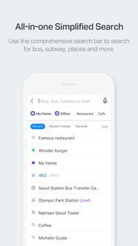 NAVER Map, Navigation screenshot 3