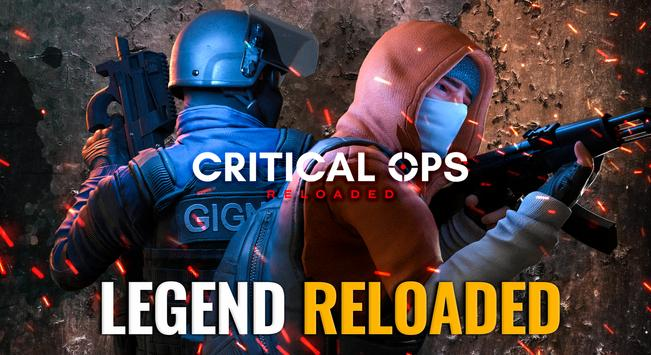 Critical Ops: Reloaded poster