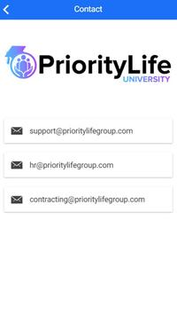 PL2G - Priority Life 2 Go screenshot 2