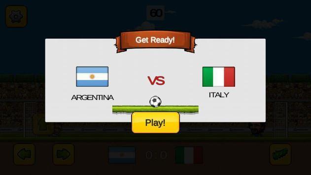 Head Soccer Game screenshot 3