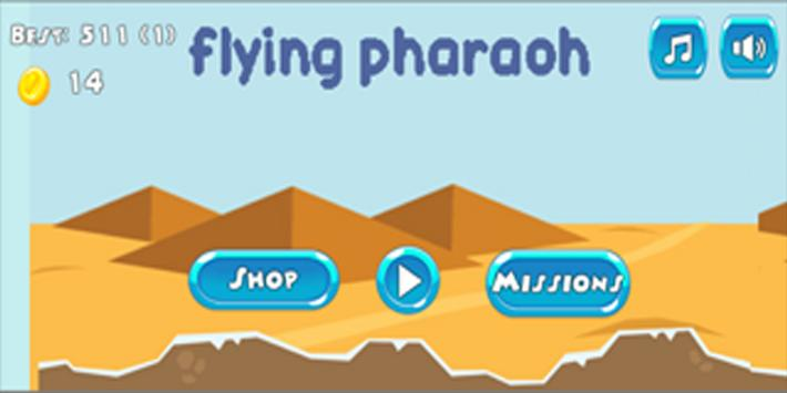 Flying Pharaoh screenshot 1