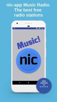 Nic-App Music. Streaming Radio Stations. poster