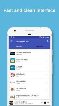 Nic-App Music. Streaming Radio Stations. screenshot 1