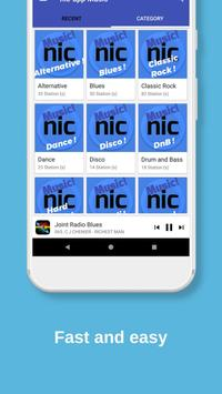 Nic-App Music. Streaming Radio Stations. screenshot 2