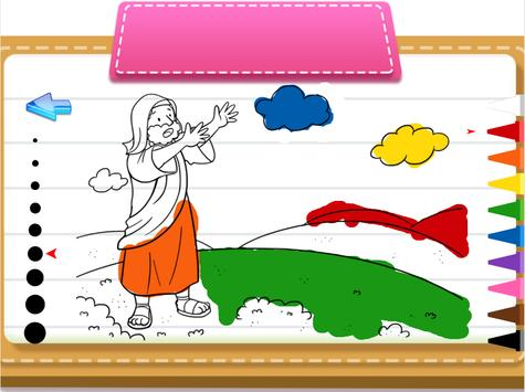 Bible coloring pages & jigsaw screenshot 2