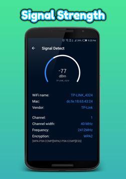 WiFi Analyzer(Speed test and ping test, WiFi test) screenshot 7