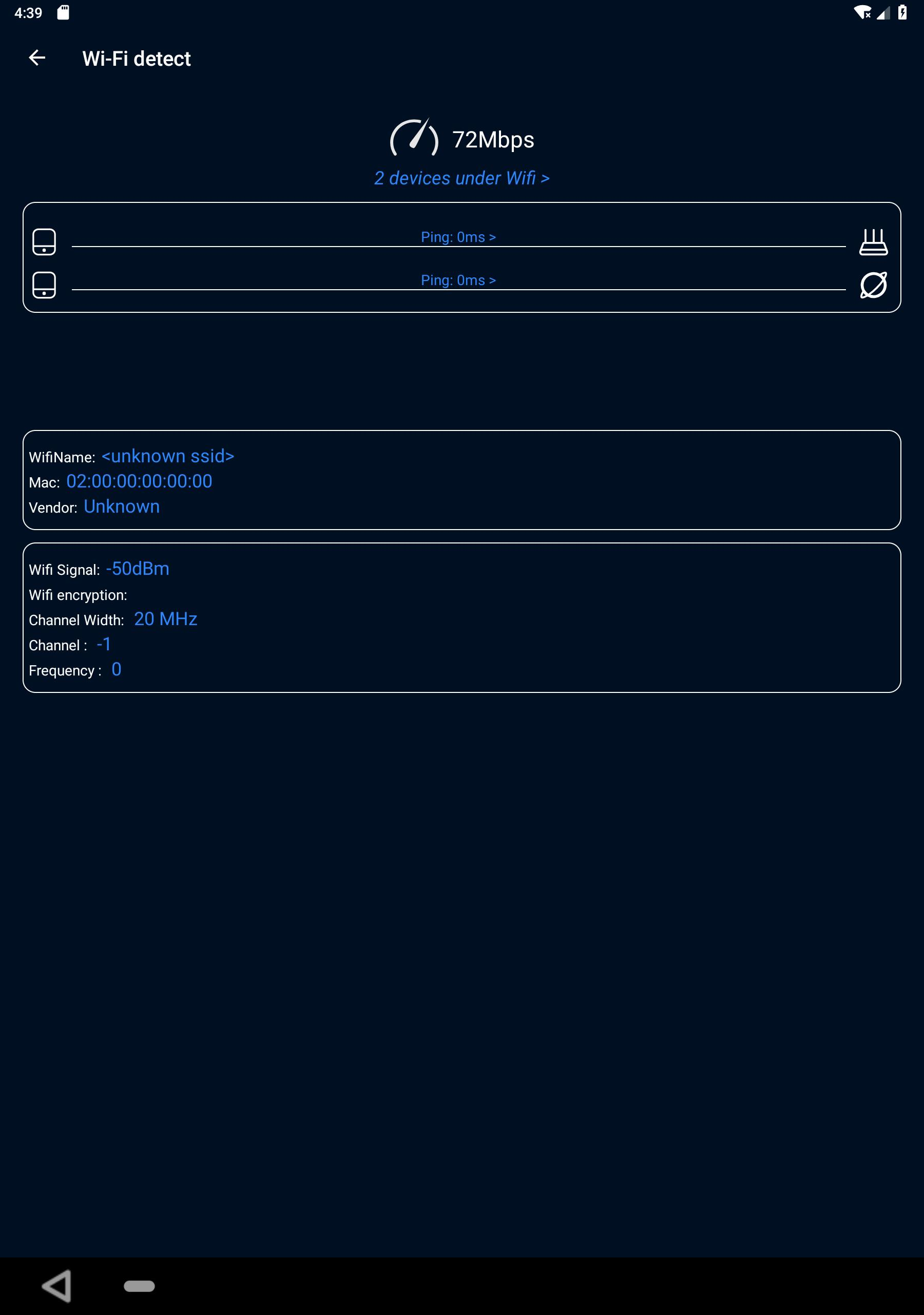 WiFi Analyzer(Speed test and ping test, WiFi test) for Android - APK