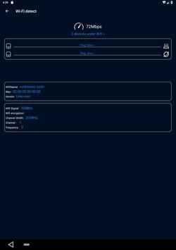 WiFi Analyzer(Speed test and ping test, WiFi test) screenshot 9