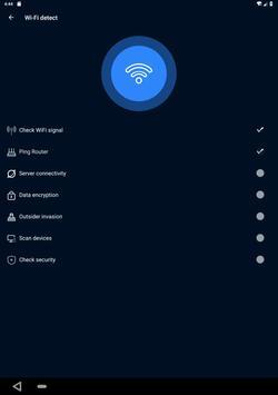 WiFi Analyzer(Speed test and ping test, WiFi test) screenshot 14