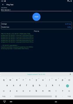 WiFi Analyzer(Speed test and ping test, WiFi test) screenshot 18