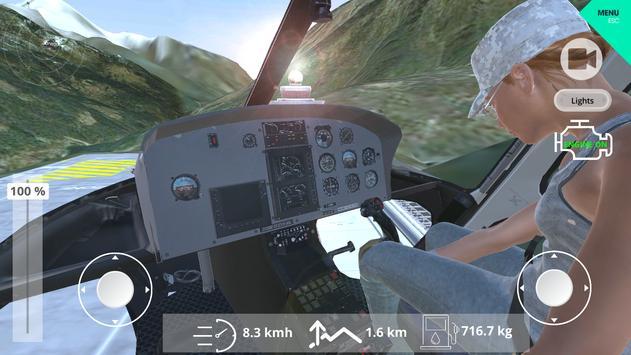 Helicopter Simulator 2019 screenshot 11