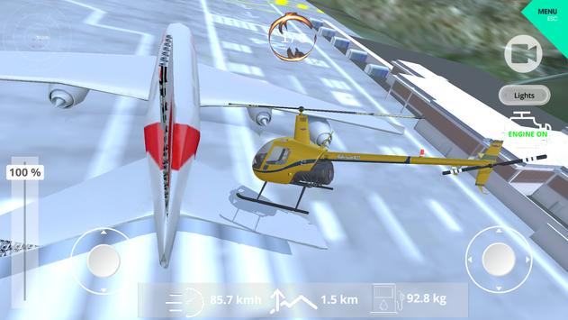 Helicopter Simulator 2019 screenshot 12
