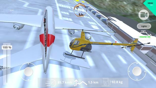 Helicopter Simulator 2019 screenshot 1