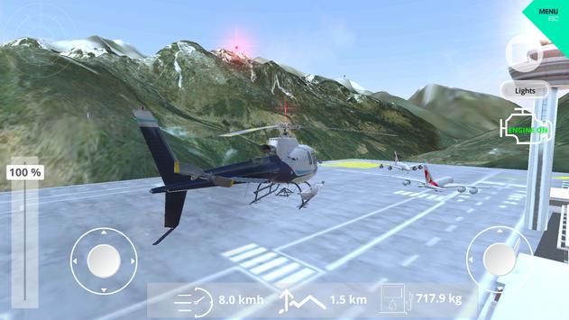 Helicopter Simulator 2019 screenshot 21