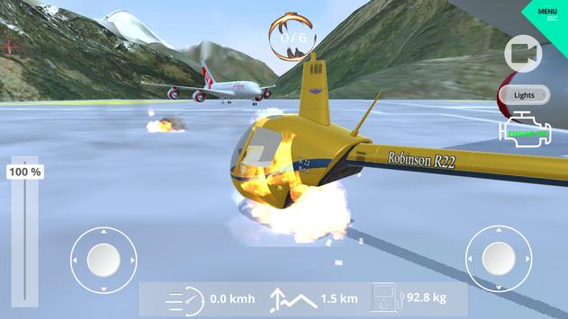 Helicopter Simulator 2019 screenshot 23