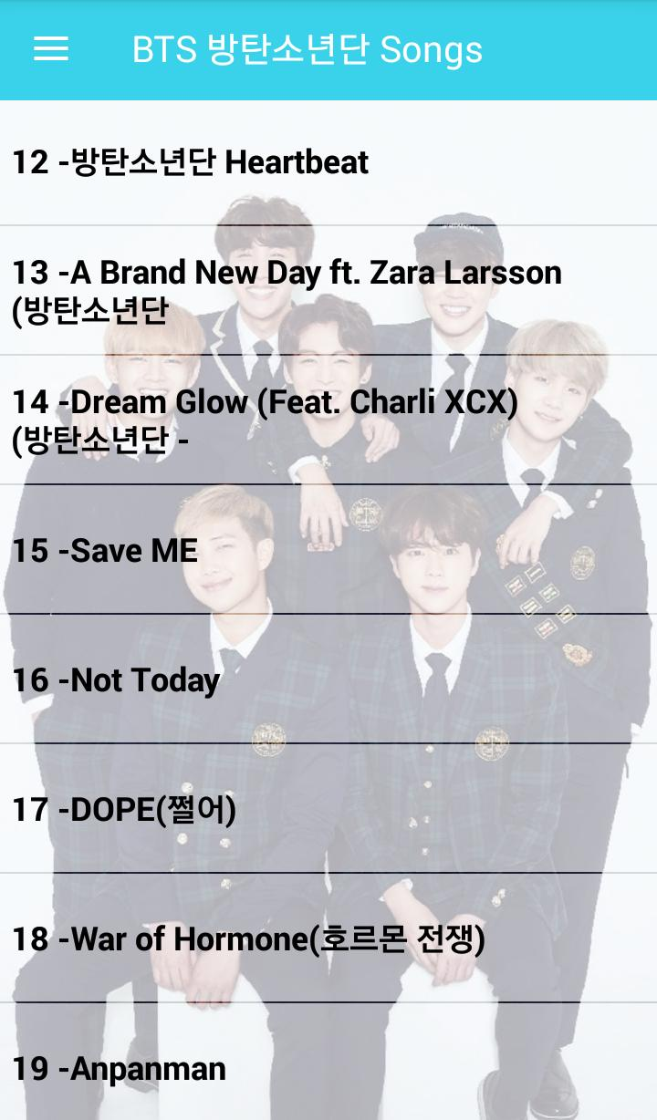 BTS Songs ( Offline - 72 Songs ) for Android - APK Download