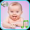 Baby klinkt beltonen-icoon