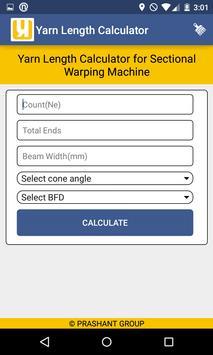Yarn Length Calculator screenshot 2