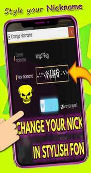 Nickname Creator for fire's free:pseudo name maker for Android - APK