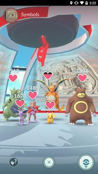 Pokémon GO captura de pantalla 4